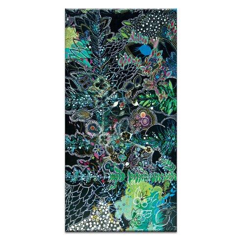 'Sonidos de la Noche' by Lia Porto Art Print on Wrapped Canvas