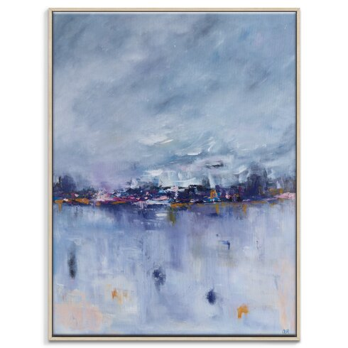 'Winter in Abu Dhabi' by Amira Rahim Art Print Wrapped on Canvas