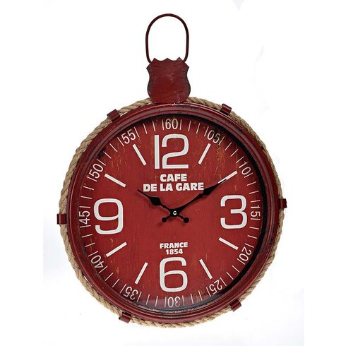 44cm Metal Wall Clock