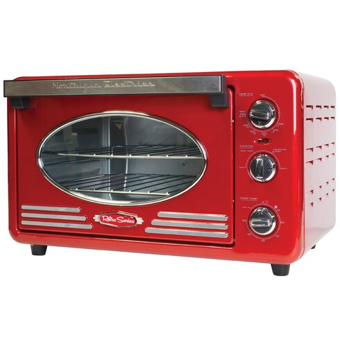 Retro Series 0.78 Cu. Ft. Convection Toaster Oven by Nostalgia Electrics