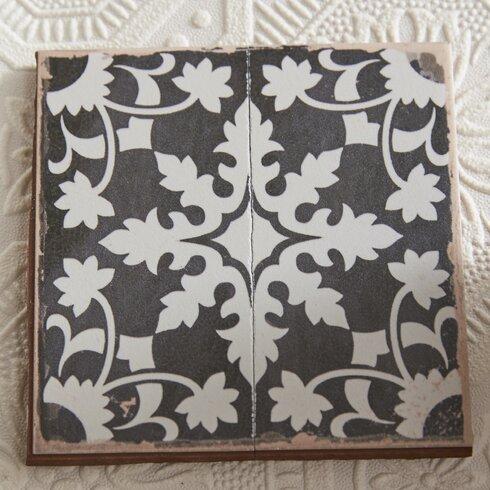 Elitetile Faventie Nero 13 Quot X 13 Quot Ceramic Field Tile In
