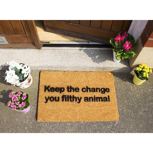 Keep the Change Doormat