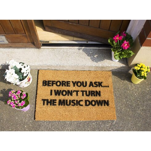 Loud Music Doormat