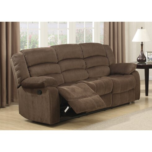 Bill Reclining Living Room Sofa and Loveseat Set - AC Pacific Bill Reclining Living Room Sofa And Loveseat Set