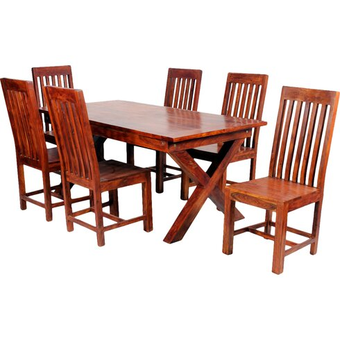 Jaipur Dining Table and 6 Chairs