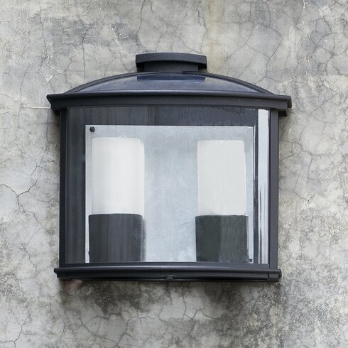 Ceres-2 2 Light Outdoor Flush Mount