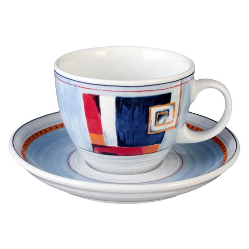 Cappuccino Cup and Saucer V.I.P Rapalo