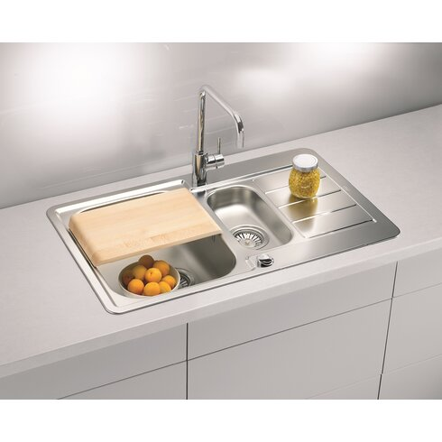Alveus Line 70  79 cm x 50 cm Kitchen Sink