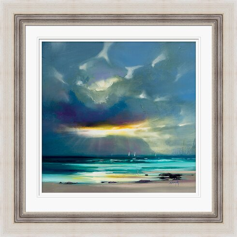 'West Coast Blues II' by Scott Naismith Framed Painting Print