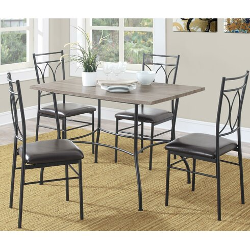 Red Barrel Studio Kelwynne 5 Piece Dining SetReviewsWayfair