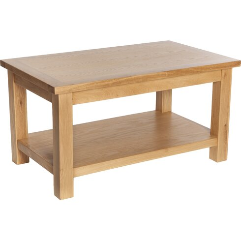 Selsey Coffee Table with Magazine Rack
