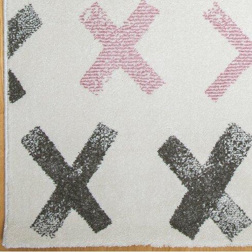 Pink/Brown Area Rug