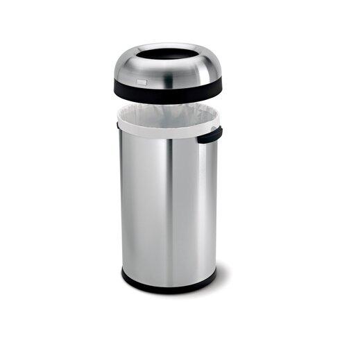 60L Bullet Open Rubbish Bin