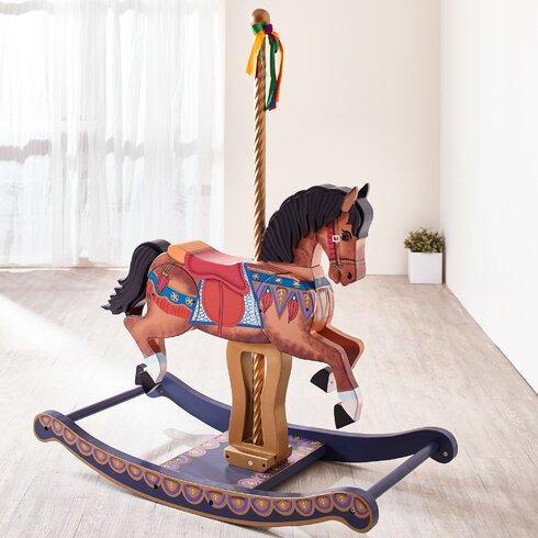 Carousel Style Rocking Horse