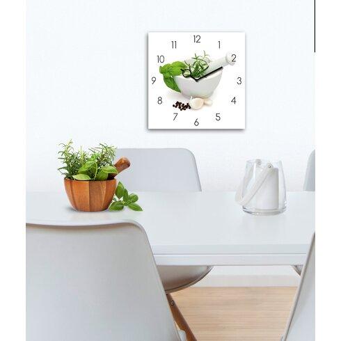 Time Art Marinade In Mortar Analogue Wall Clock