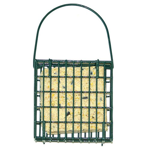Single Cake Suet Bird Feeder