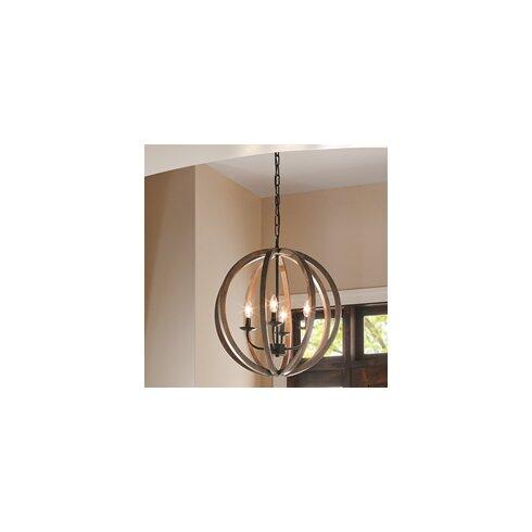Allier 4 Light Globe Pendant