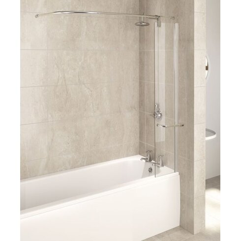 AQUA 5 150cm x 30cm Bath Screen