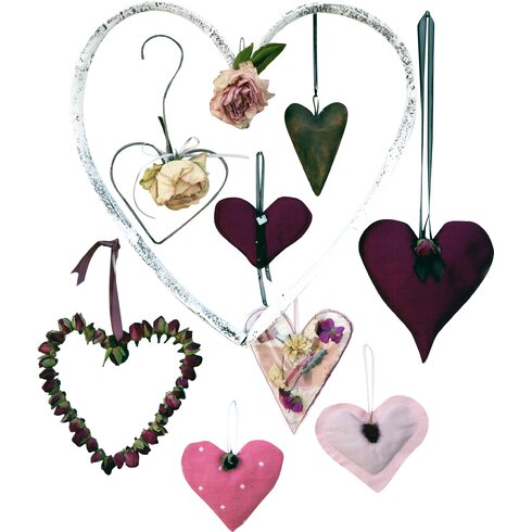 Hearts Compendium Photographic Print