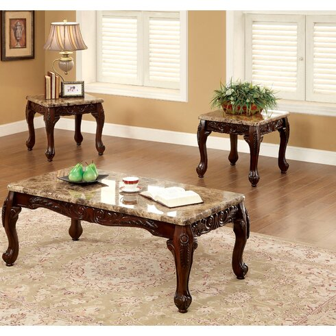 Astoria Grand Albertus 3 Piece Coffee Table SetReviewsWayfair