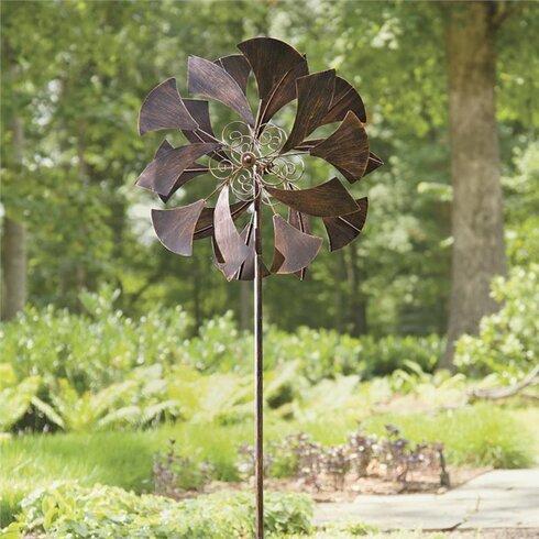 Metal Ginkgo Leaf Spinner