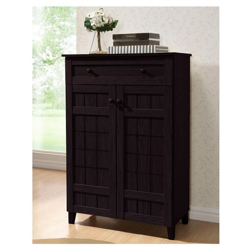 Latitude Run Modern 15Pair Shoe Storage CabinetReviewsWayfair