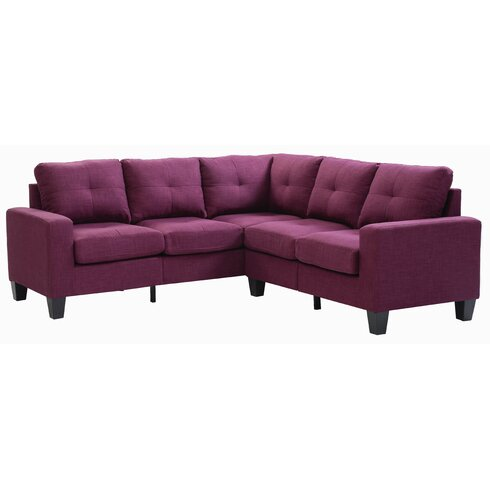 Small Space Sectional Sofas Under $1000. Main Image Zoomed