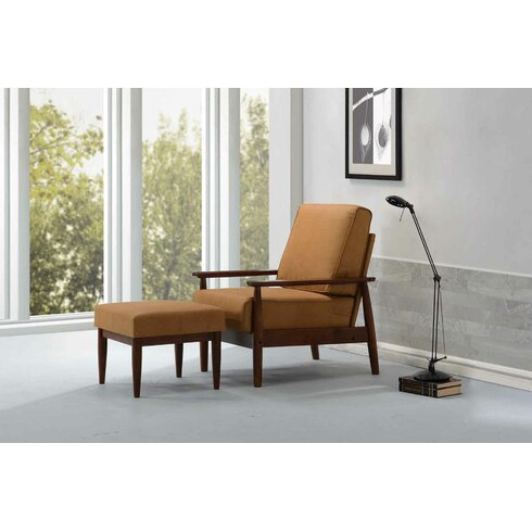 Kaleidoscope Furniture Bergen Arm Chair And Ottoman
