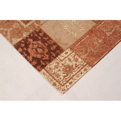 Annecy Brown Collage Area Rug