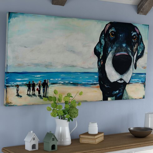 MacDaddy' Framed Wall art on Wrapped Canvas