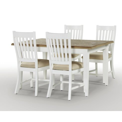 Dockside Extendable Dining Set with 4 Chairs