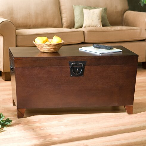 Charlton Home Bischoptree Storage Trunk Coffee TableReviews