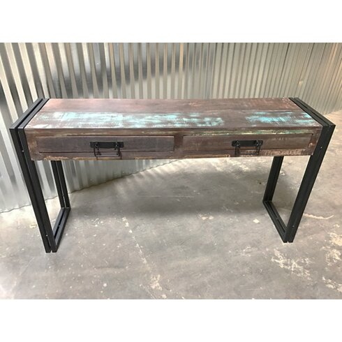Old Reclaimed Wood Console Table With Metal Legs Timbergirl Old Reclaimed  Wood Console Table With.