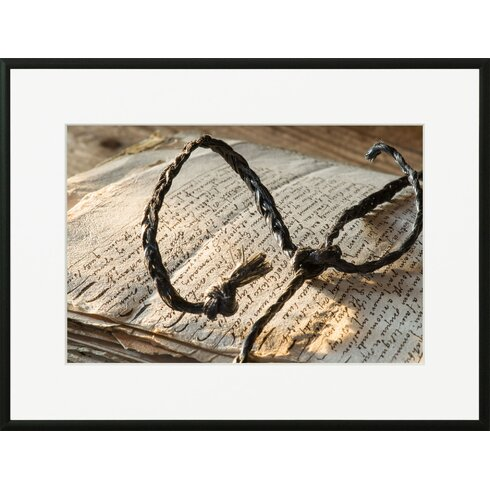 'Old Paper Size 2' by Laurence David Framed Photographic Print