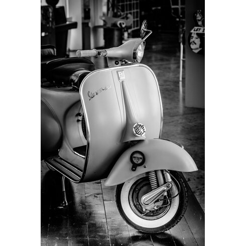 'Vespa 1' by Philippe David Framed Photographic Print
