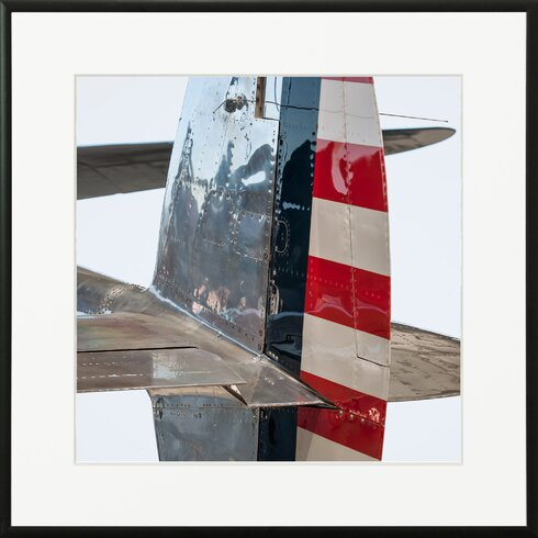 'Lockheed Lightning P38 4' by Philippe David Framed Photographic Print
