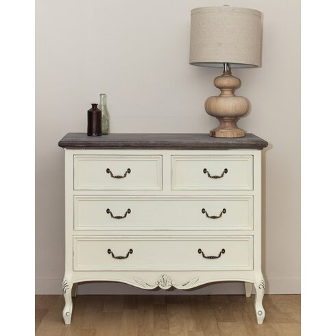 Heritage 4 Drawer Chest of Drawers
