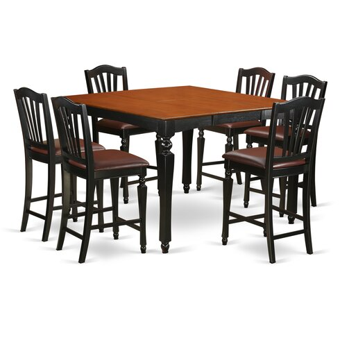 Darby Home Co Ashworth 7 Piece Counter Height Dining Set & Reviews ...