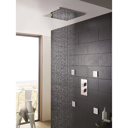 27cm Square Fixed Shower Head