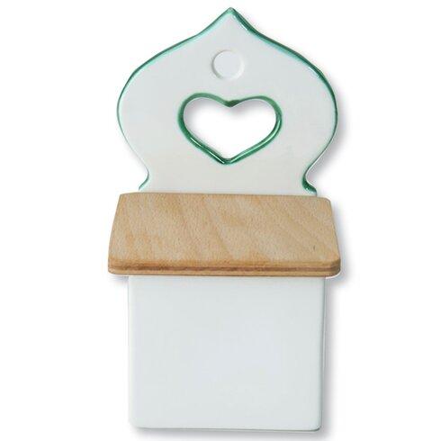 Salzfass mit Holzdeckel