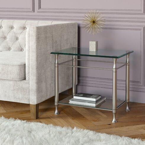 Yoko Side Table with Storage