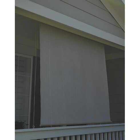 Keystone Fabrics Damon Outdoor Roller Solar Shade Reviews Wayfair
