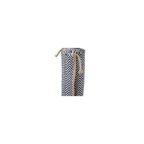 Hand-Woven Navy Blazer Area Rug
