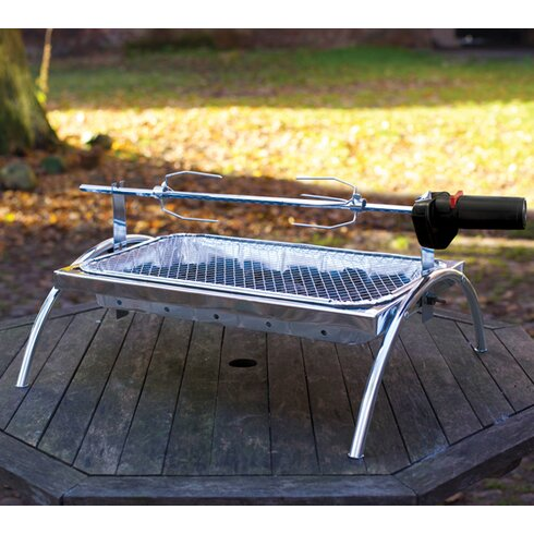 61cm Rotisserie Charcoal Barbecue