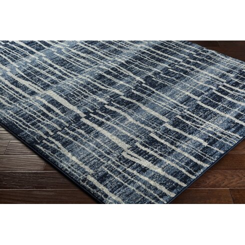 Trent austin design roland dark blue bright blue area rug for Bright blue area rug