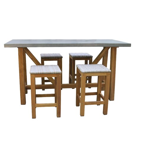 farmhouse 7 piece counter height dining set reviews