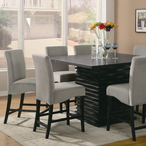 Za Counter Height Dining Room Set Steve Silver Furniture