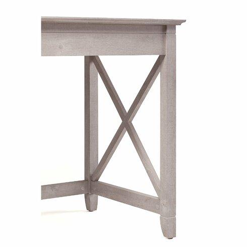 Beachcrest Home Oridatown Single Pedestal Computer Desk