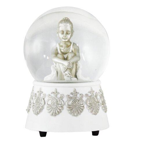 Borage Little Ballerina White Water Globe