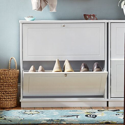Rebrilliant 12Pair Shoe Storage CabinetReviewsWayfair